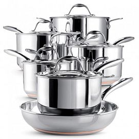 my old Teflon coated pots and pans are all worn out, would love a set of quality cook ware