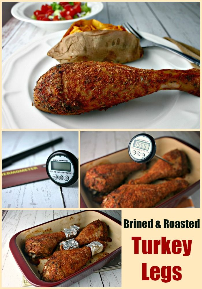 Brined and Roasted Turkey Legs | Life, Love, and Good Food