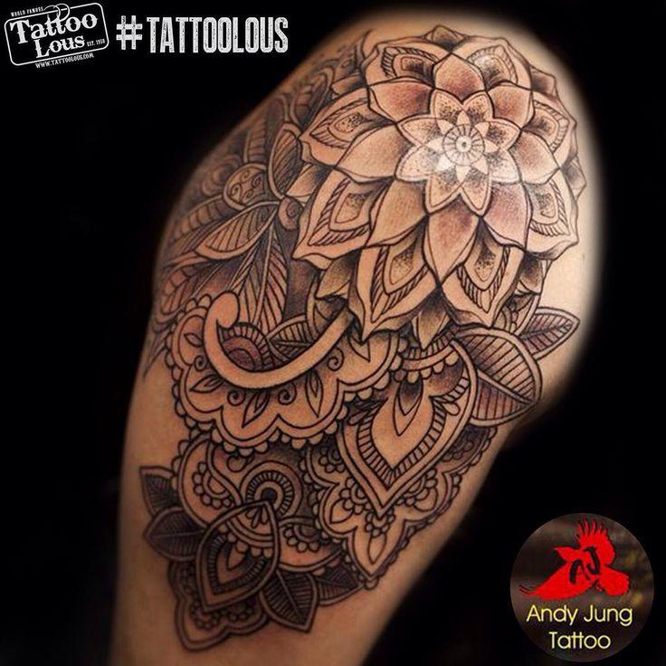 Beautiful new piece by @andyjungtattoo at Tattoo Lou's of Selden! Call the studio at 631-732-9585 to book an appointment with him! #tattoolous #longisland #tattoo #tattoos #inkedgirls #selden #ny #ink #getinked #tattoosofinstagram #mandala #mandalatattoo #inkisart