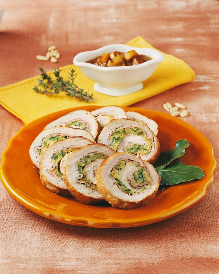 Zucchini-Schweinerollbraten - smarter - Zeit: 35 Min. | eatsmarter.de
