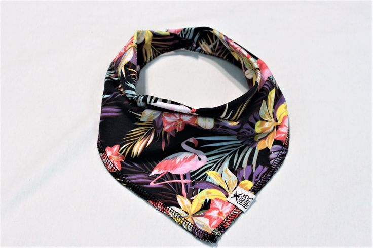 Bandana Bib Urban Flamingo Rad Modern Clothes for your little 🇨🇦 www.brokboys.com