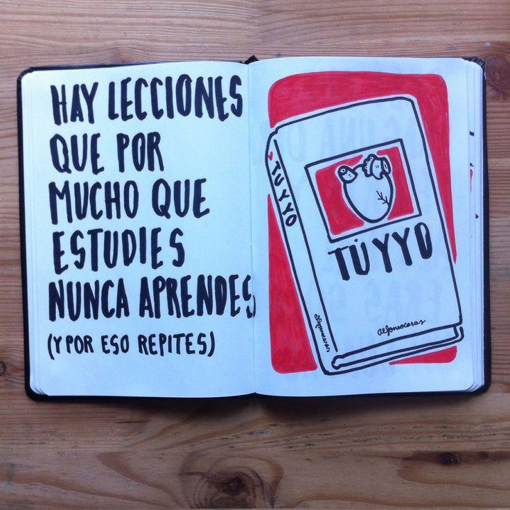 Lecciones que nunca aprendes (Alfonso Casas)