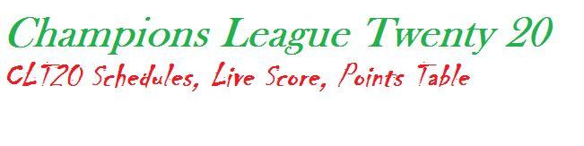 2013 Champions League T20 CLT20 Faisalabad Wolves vs Otago Volts match 1 Otago Volts vs Faisalabad Wolves qualifier schedule