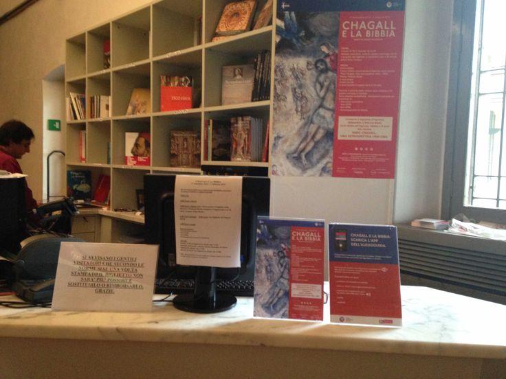 Ingresso mostra Chagall e la Bibbia - possibilità di acquistare l'#app mobile per vedere la mostra.