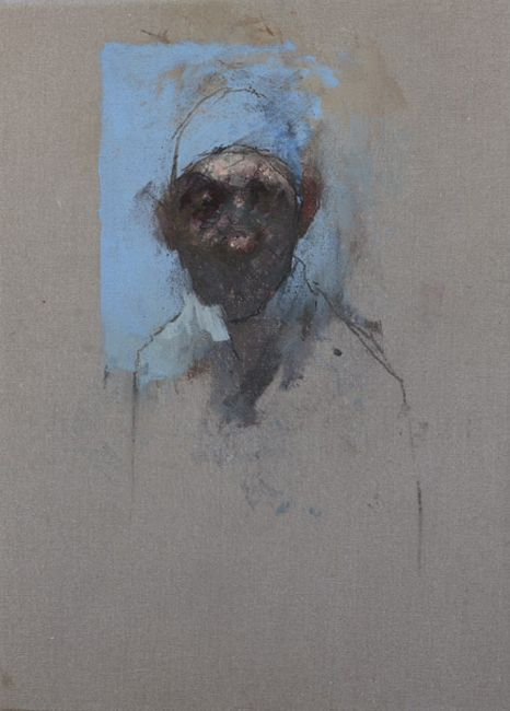 Nathan Ford 'Pug' Oil on Canvas 20 x 28 cm. Love him. He reminds me of a Froud Fairy or gnome