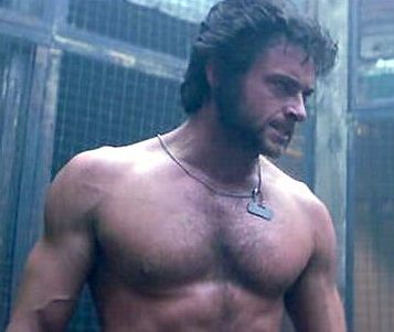 Hugh Jackman. You know, as Wolverine, he was kinda cute. As Jean Valjean, he became fifty million times more attractive.