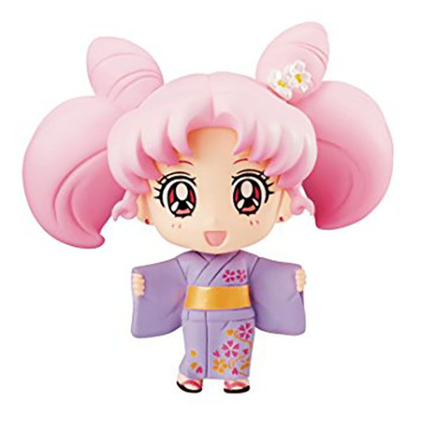 Megahouse Sailor Moon: Petit Chara Chibi Usagi Figure (Yukata Version)