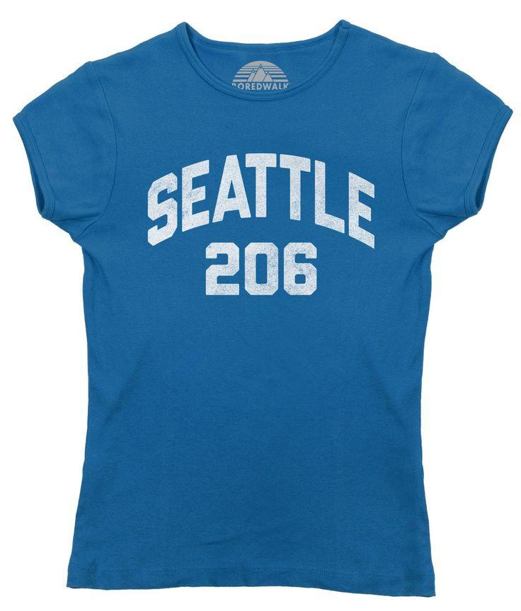 Us Area Code Map 206%0A Women u    s Seattle     Area Code TShirt