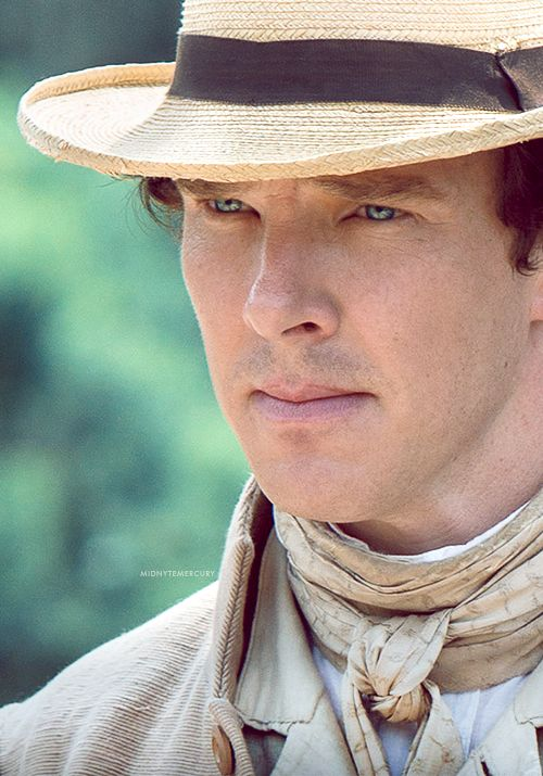 """Benedict Cumberbatch in """"Twelve Years a Slave""""--Cannot wait to see this movie!  It looks amazing!"""