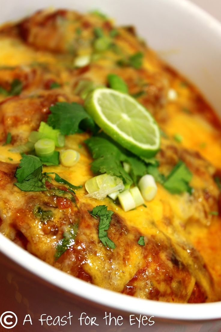 Pressure Cooking: Cheesy Salsa Lime Chicken   recipe from A Feast for the Eyes