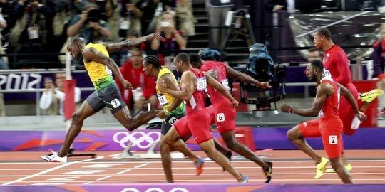 100 m London 2012
