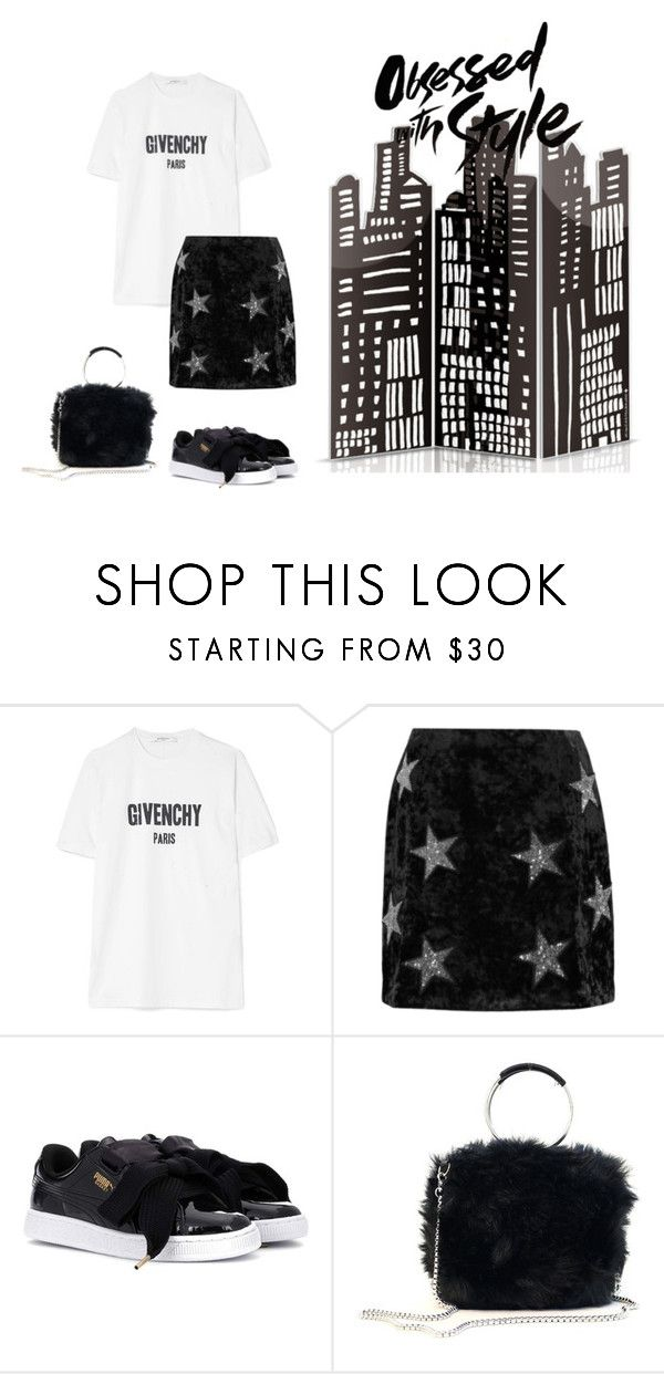 """""""OBSESSED WITH STYLE"""" by yasmingarcia99 on Polyvore featuring Givenchy, River Island and Puma"""