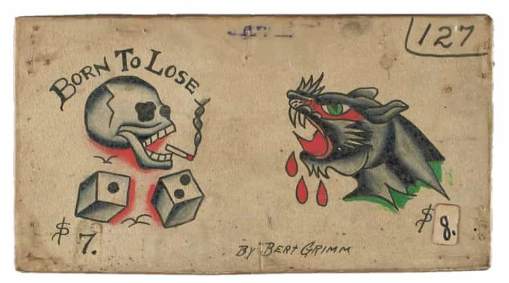 Skin deep: glimpse into the history of American tattoo design – in pictures