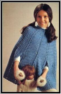 CHILD'S CROCHET CAPE - Groovy Crochet                                                                                                                                                                                 More