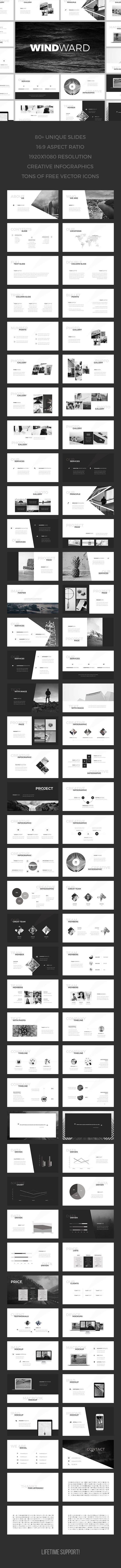 WindWard Keynote Template