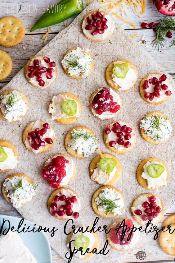 best-cracker-appetizer-recipes-perfect-party-appetizer-by-Life-Sew-Savory http://lifesewsavory.com/2017/04/best-cracker-appetizers-with-ritz.html #ad #SpreadRITZpiration
