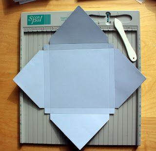 Simon Says Stamp Blog!: Simon Says...Make an Envelope/Box!