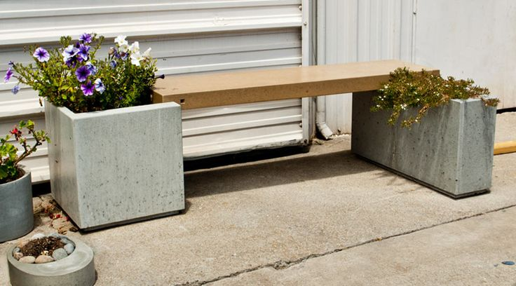 How to Make a Park Ave Concrete Bench and Planter | CHENG Concrete Exchange