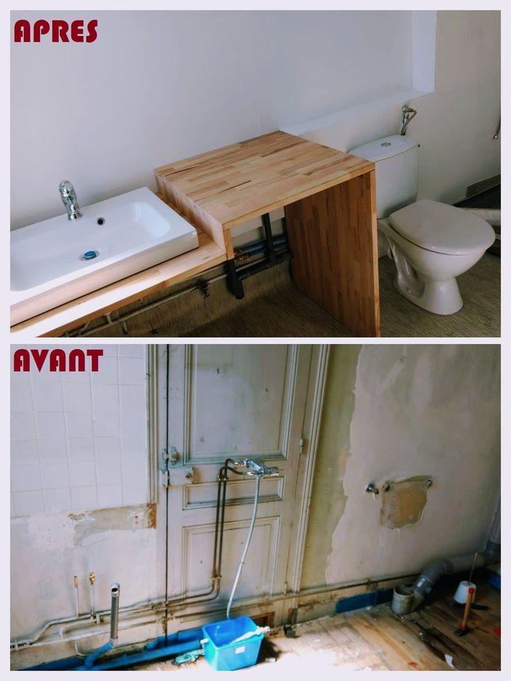 25 melhores ideias sobre salle de bain 5m2 no banheiro muito pequeno les salles de