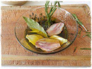 Marinade à l'ail, romarin et citron pour viandes rouges