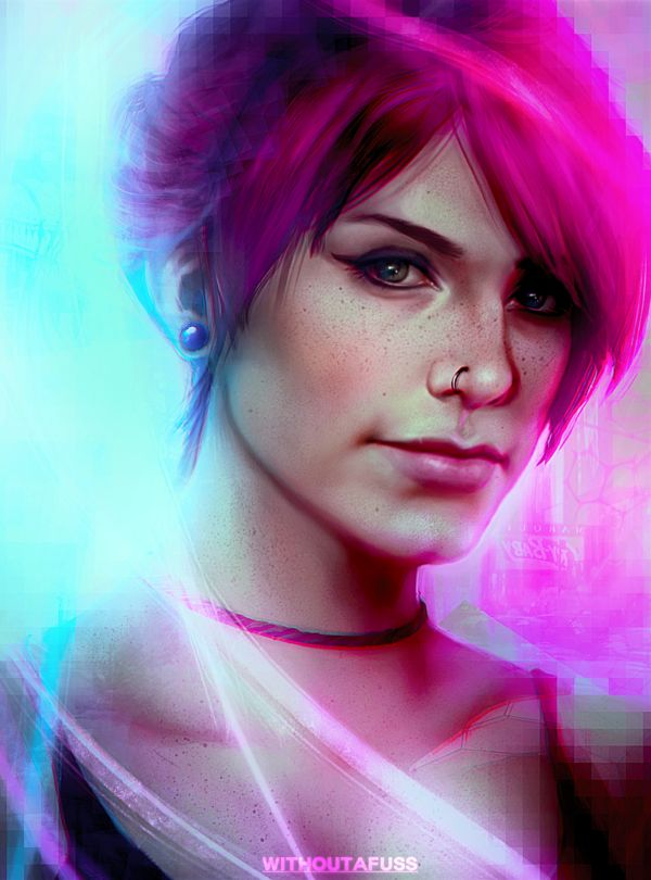 Neon Girl... Fetch from Infamous .u. -Will