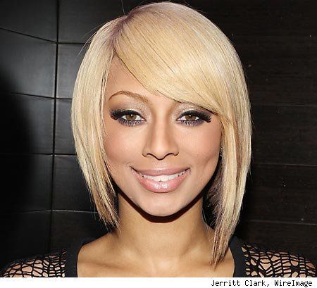 Keri HilsonFront View, Asymetrical Hairstyles, Shorts Haircuts, Hair Cut, Hair Style, Hair Nails Makeup Beautiful, Keri Hilson Hair, Asymmetrical Bobs, Assymetrical Bobs Haircuts