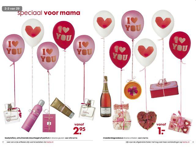 Heb jij deze leuke #Moederdag cadeautjes al gezien in de Hema-folder? Bekijk de folder op www.reclamefolder.nl.