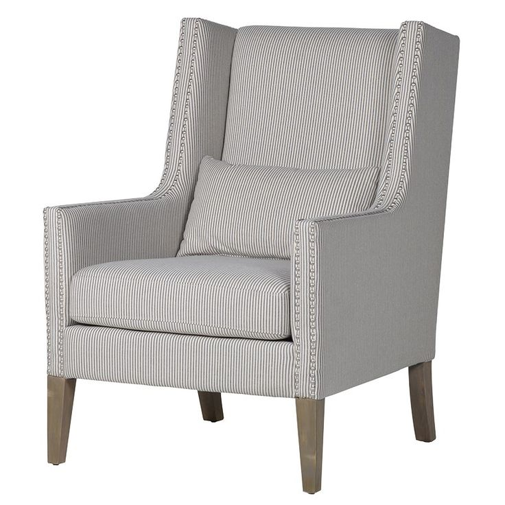 Beautiful Occasional Chair for any room.  Love his one and exceptionally comfortable.