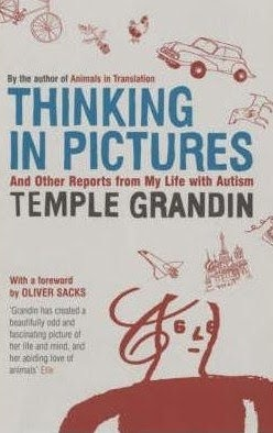 temple grandin ... thinking in pictures.  I went with two of my daughters to hear Temple Grandin speak about autism.  She spoke at the Zembo Mosque in Harrisburg, PA.