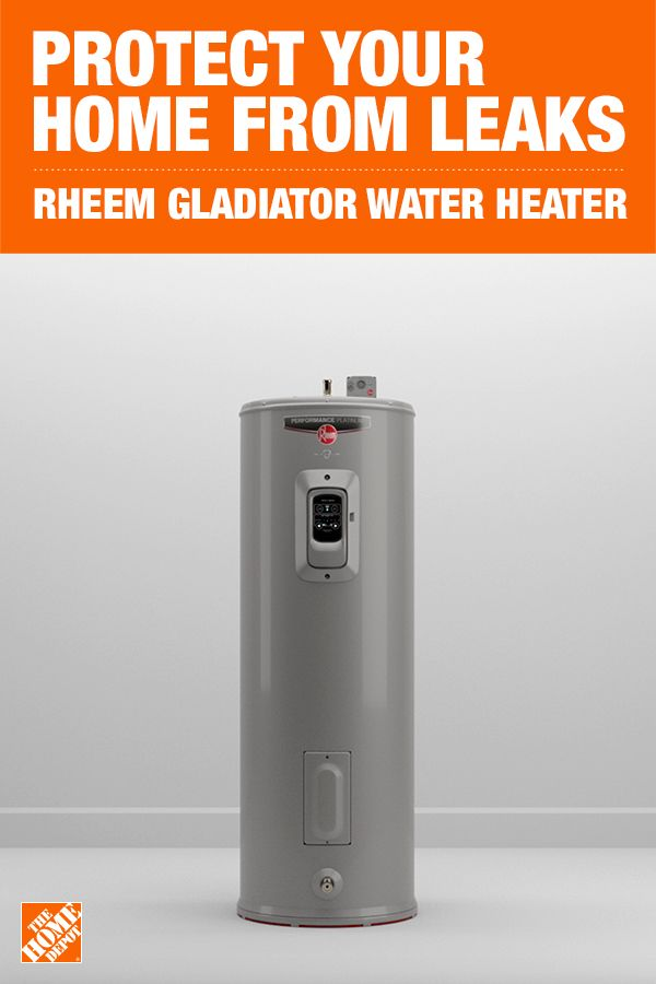 Rheem Gladiator 50 Gal Tall 12 Year 5500 5500 Watt Smart Electric Water Heater With Leak Detection And Auto Shutoff Xe50t12cs55u1 Water Heater Electric Water Heater Custom Modular Homes