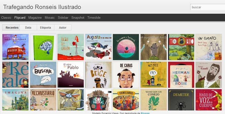 Trafegando Ronseis Ilustrado: Selección de álbum ilustrado.
