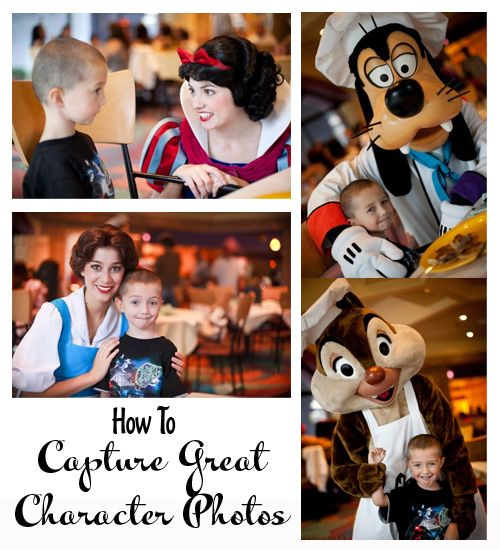 How to capture great character photos ~ Disney
