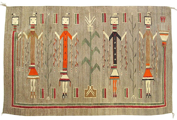 34 Best Yei Rugs Images On Pinterest Navajo Rugs Native