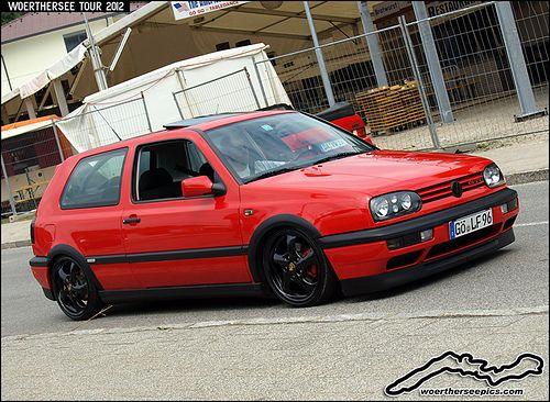 Red VW Golf Mk3 GTI | Flickr - Photo Sharing!
