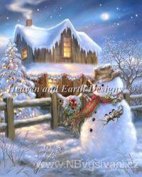 HAED - Woodhouse Christmas (Lugana 25ct)