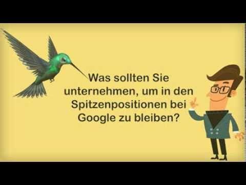 """Für Suchmaschinenoptimierung (SEO) hat es sich dieses Jahr als sehr dramatisch herausgestellt, dass von Google größere Änderungen durchgeführt wurden in Form von """"Hummingbird""""."""