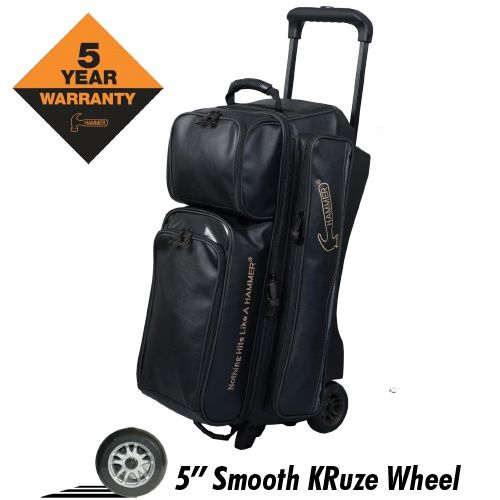 Hammer Force 3b Roller Black 179 95 W Free Shipping Bowling Bags Bags Bowling Ball Bags