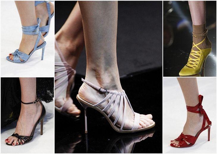 Модная обувь на лето 2017 год