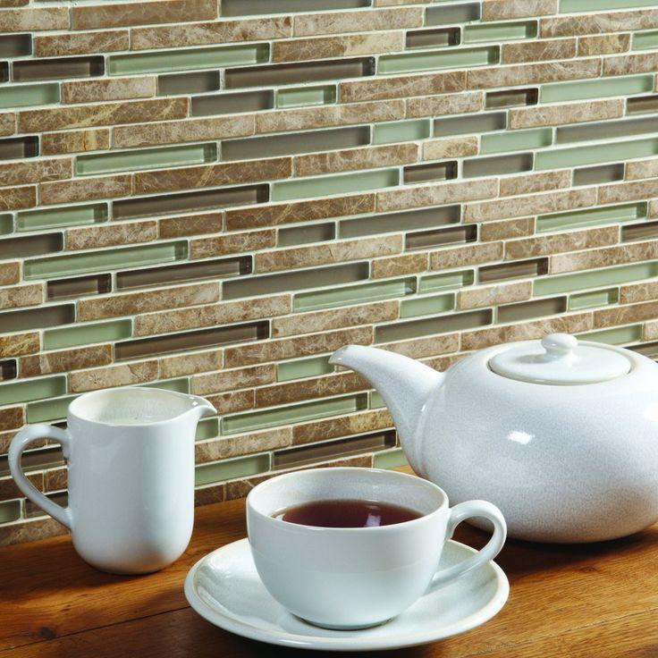 Original Style Strata Silurian Mosaic Sheet 33.4x30.4x0.8cm - Original Style from The Ceramic Tile Company UK