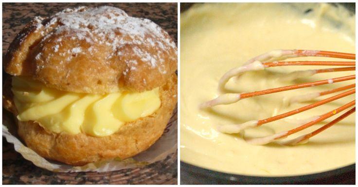 Prepara tu propia crema pastelera para el relleno de tus pasteles