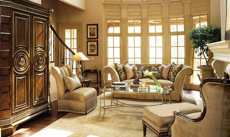 Marge Carson Living Room Marc Pridmore Designs Orange