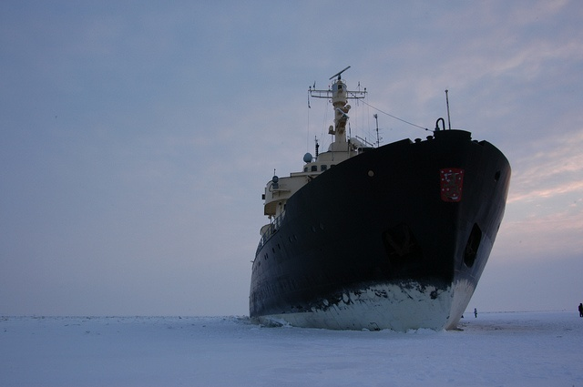 Sampo icebreaker, out of Kemi, Finland