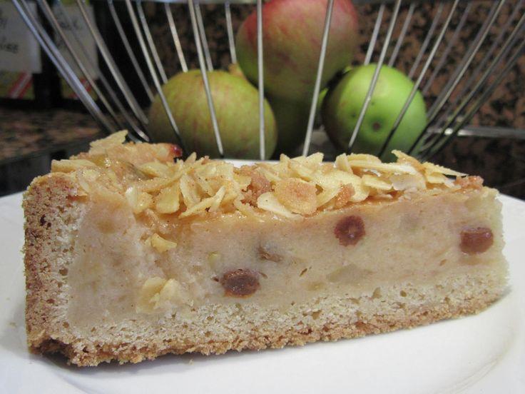 Backen: Apfel-Grieß-Kuchen