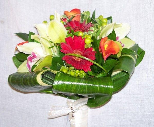 Bouquet de mariage, fleurs naturelles, mariage, simple et chaleureux, coloré, Le jardin d'Andrée-Anne, www.lejardin.ca