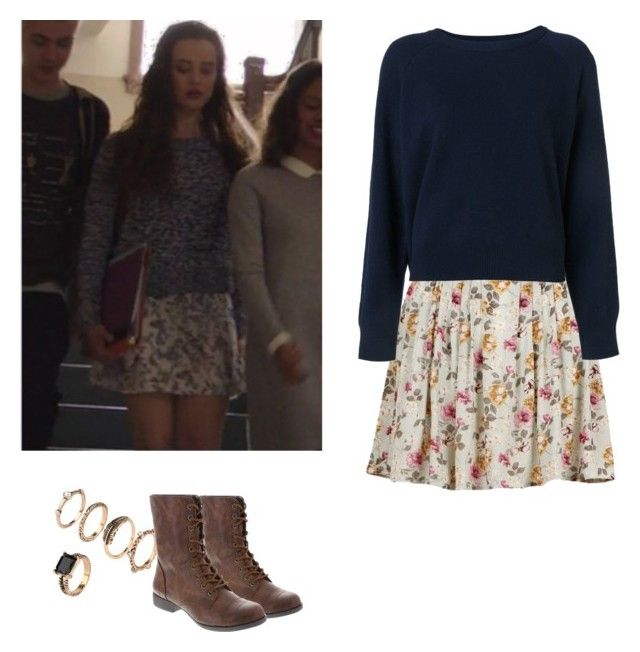Hannah Baker - 13 reasons why / 13rw by shadyannon on Polyvore featuring polyvore fashion style T By Alexander Wang clothing