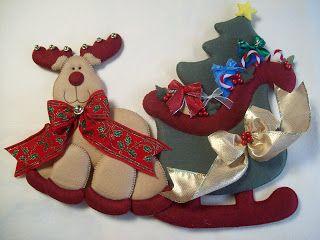 SHEXELDETALLITOS blog de manualidades: fieltro navidad