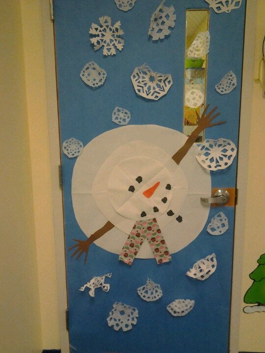 Classroom Ideas For January : Classroom door for january preschool pinterest