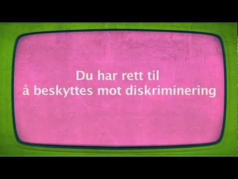 Artikkel 2 - Om diskriminering - YouTube