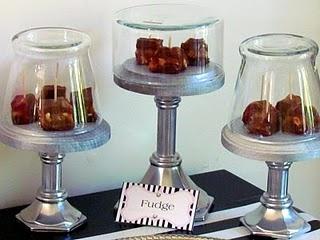 DIY: Mini desert stands