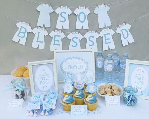 Best 25 christening party ideas on pinterest christening decorations baptism party - Decorations for a baptism ...